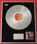 OLIVIA NEWTON-JOHN - Totally Hot PLATINUM LP presentation Disc